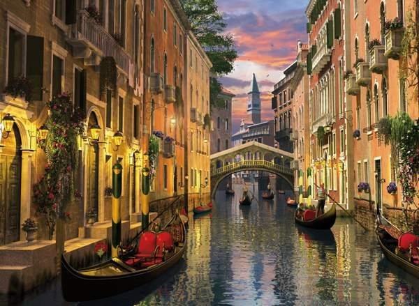 CLEMENTONI Puzzle Benátky 6000 dílků