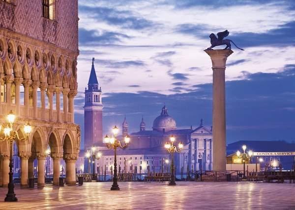 Puzzle CLEMENTONI - Benátky, Itálie 2000 dílků