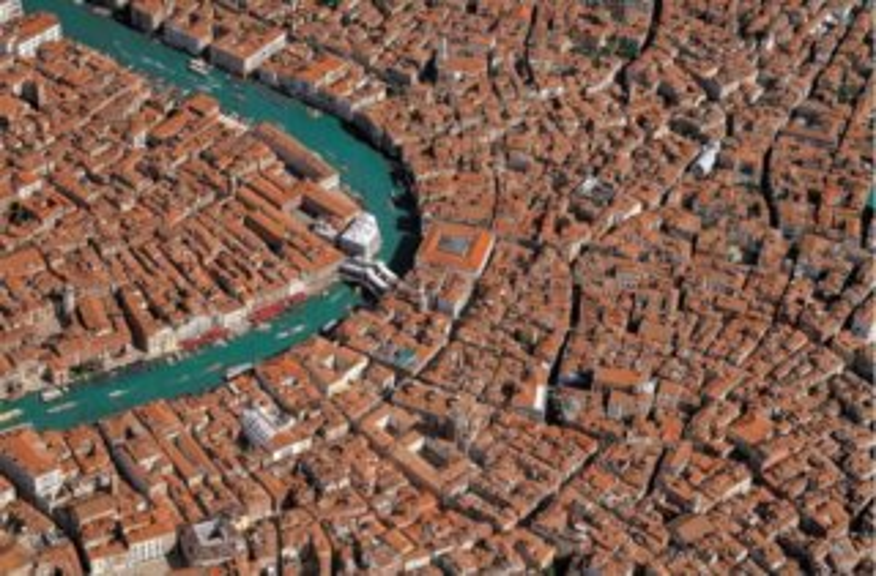 Puzzle PIATNIK 1000 dílků - Benátky - letecký pohled