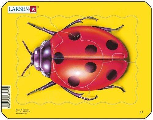 Dětské puzzle LARSEN 5 dílků - Beruška