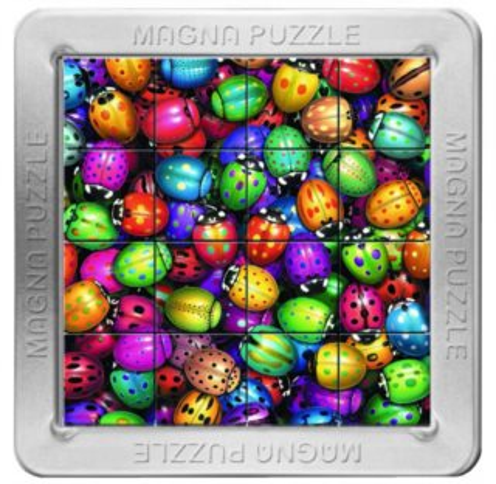 3D magnetické puzzle PIATNIK 16 dílků - Berušky