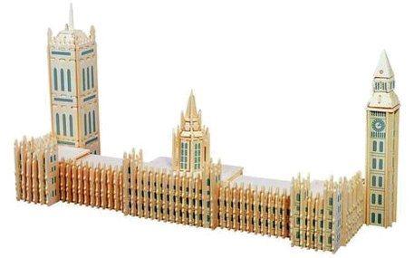 3D dřevěné puzzle Big Ben
