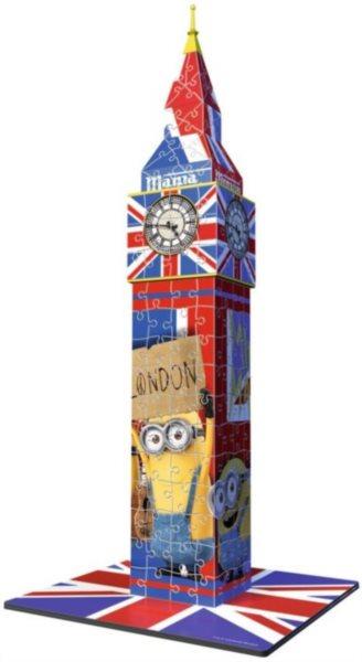 3D puzzle RAVENSBURGER 216 dílků - Big Ben 3D (Mimoni)