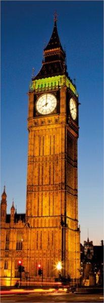 Vertikální puzzle HEYE 1000 dílků - Big Ben, Londýn