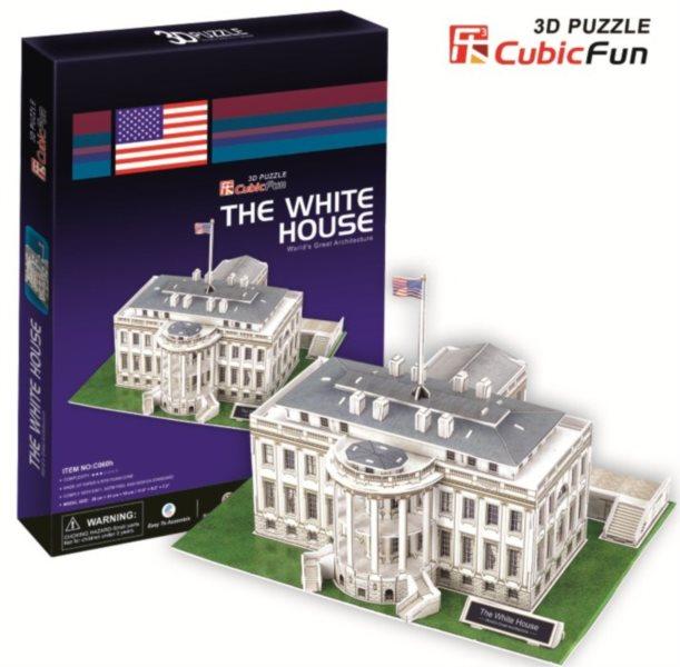 CUBICFUN 3D puzzle Bílý dům 65 dílků