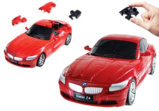 HAPPY WELL 3D Puzzle BMW Z4 1:32 červené