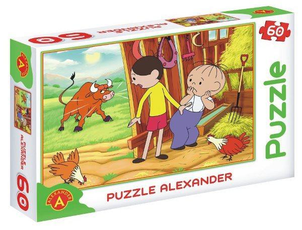 ALEXANDER Puzzle Bolek a Lolek: Býk 60 dílků