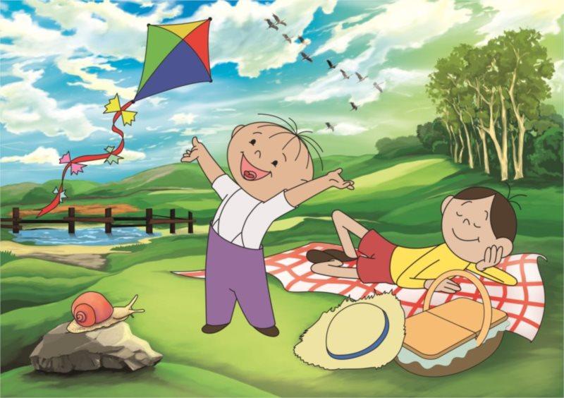 ALEXANDER puzzle Maxi Bolek a Lolek Piknik na louce 20 dílků