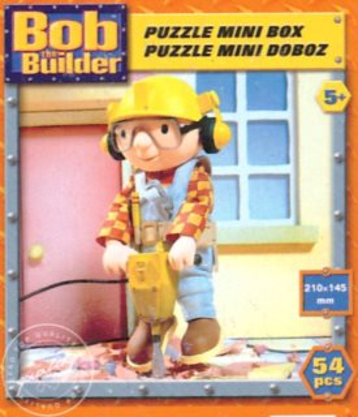 Dětské puzzle EFKO 54 dílků - Bořek stavitel: Bořek se sbíječkou