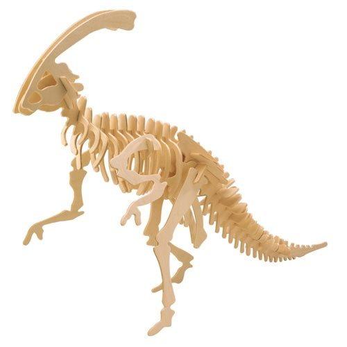 WOODEN TOY , WCK 3D puzzle Parasaurolophus