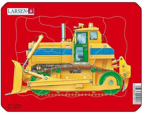 LARSEN Puzzle Buldozer 10 dílků