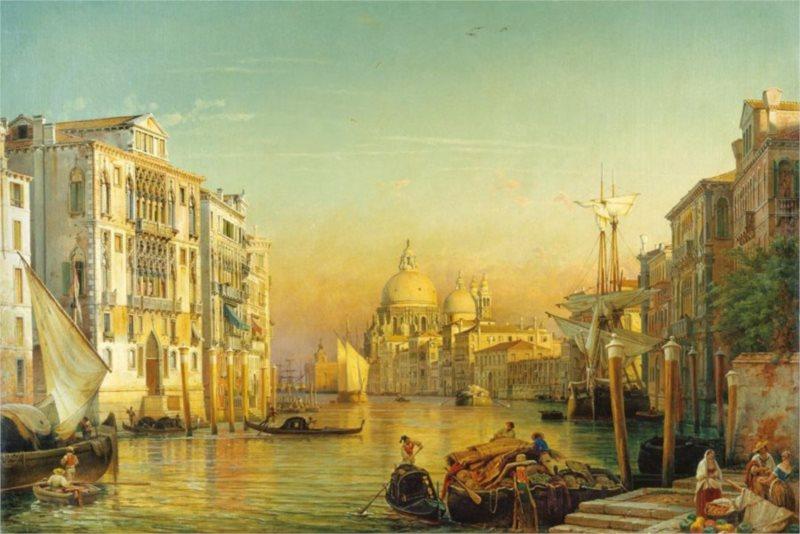 RAVENSBURGER Puzzle Canal Grande, Benátky 3000 dílků