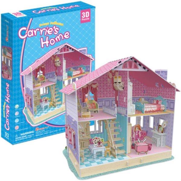 CUBICFUN 3D puzzle Carriin dům snů 93 dílků