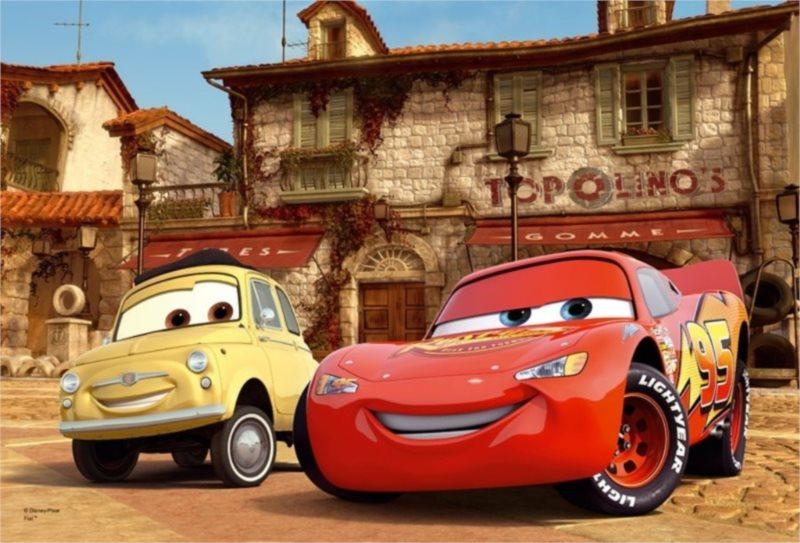 Puzzle pro děti TREFL 100 dílků - Cars (Auta): Nejlepší kamarádi