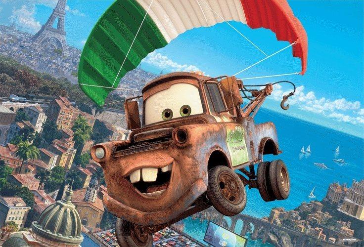 Puzzle pro děti TREFL 100 dílků - Cars (Auta)