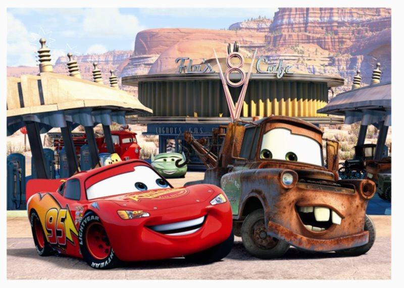 Dětské puzzle EDUCA 80 dílků - Cars (Auta)