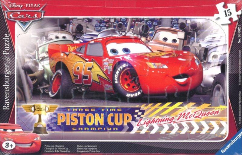 RAVENSBURGER Puzzle Auta: Piston Cup 15 dílků