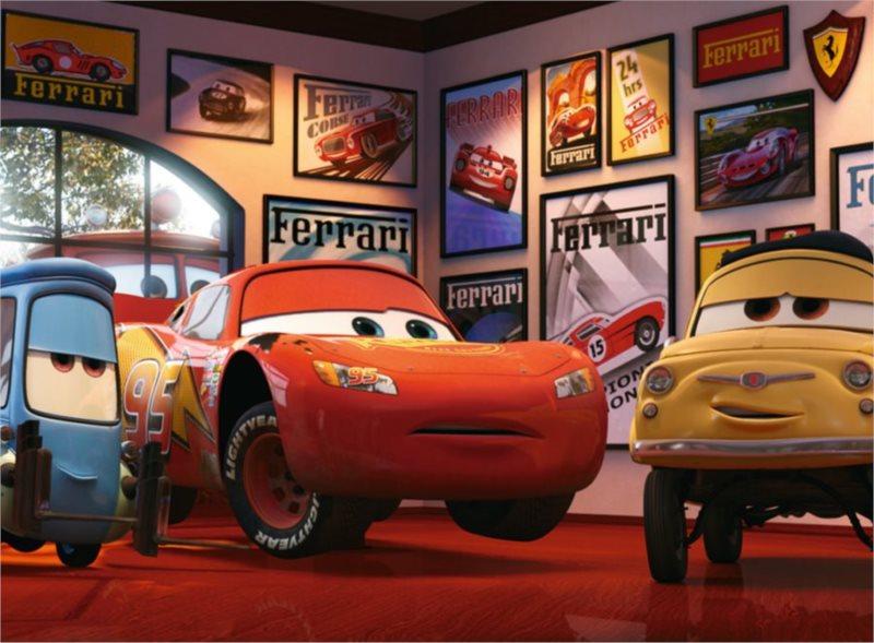 Dětské puzzle RAVENSBURGER 200 dílků - Cars (Auta): Tři přátelé XXL