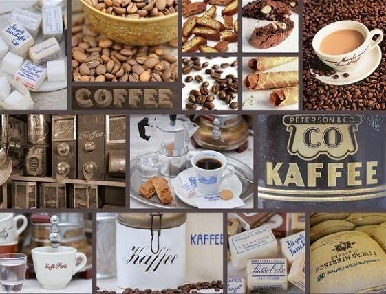 Puzzle RAVENSBURGER 2000 dílků - Andrea Tilk, Čas na kávu