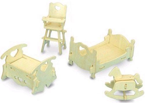 WOODEN TOY , WCK 3D puzzle Dětský pokoj