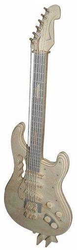 WOODEN TOY , WCK 3D puzzle Elektrická kytara