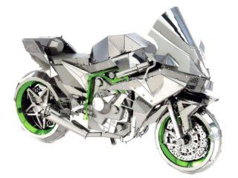 METAL EARTH 3D puzzle Kawasaki Ninja H2R (ICONX)