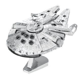 METAL EARTH 3D puzzle Star Wars: Millenium Falcon (ICONX)