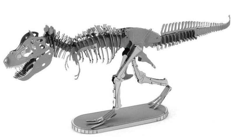 3D kovové puzzle METAL EARTH Tyranosaurus Rex