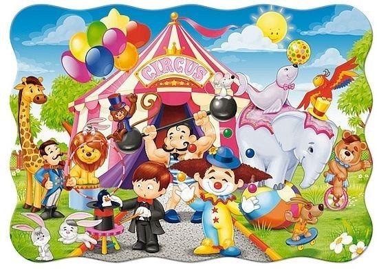 CASTORLAND Puzzle Cirkus 30 dílků