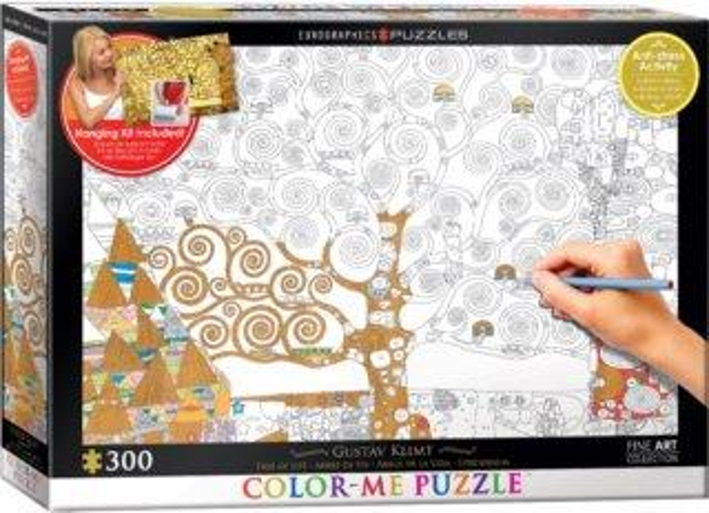Color me puzzle EUROGRAPHICS 30 dílků : Strom života