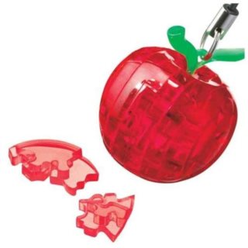 HCM KINZEL 3D Crystal puzzle přívěsek Červené jablko