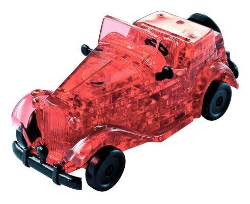 3D Crystal puzzle (krystalové puzzle) - Červený veterán 53 dílků