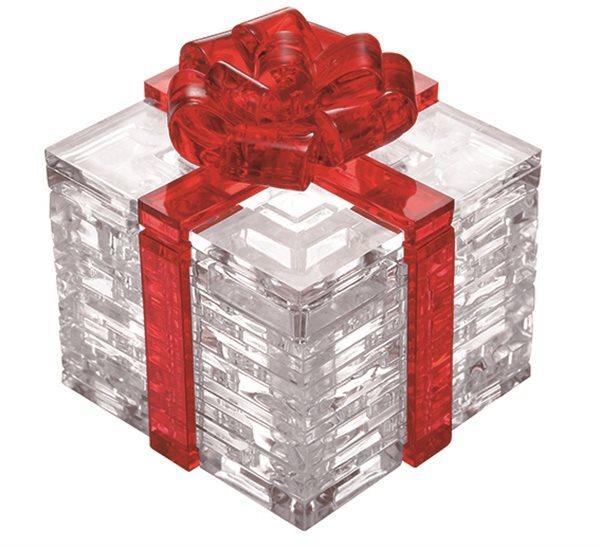 3D Crystal puzzle (krystalové puzzle) - Dárek 38 dílků