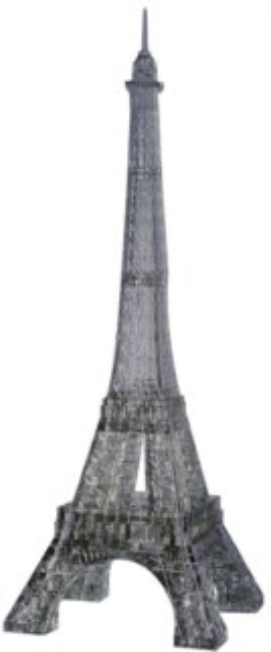 3D Crystal puzzle (krystalové puzzle) -  Eiffelova věž 96 dílků