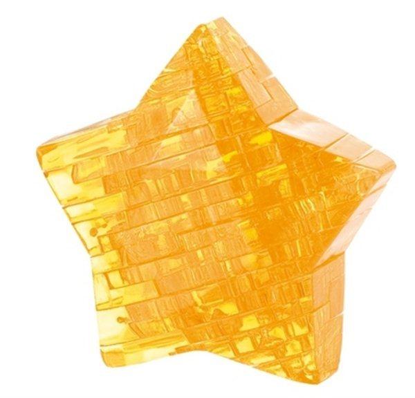 HCM KINZEL 3D Crystal puzzle Hvězda 38 dílků