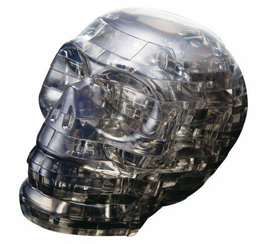 3D Crystal puzzle (krystalové puzzle) - Lebka 49 dílků