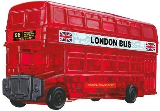 3D Crystal puzzle (krystalové puzzle) - Londýnský autobus 53 dílků