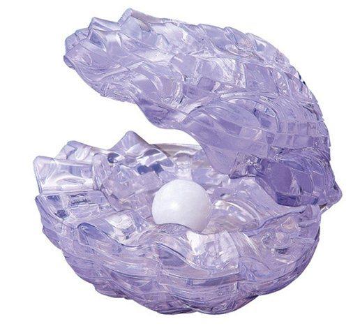 HCM KINZEL 3D Crystal puzzle Mušle s perlou 48 dílků