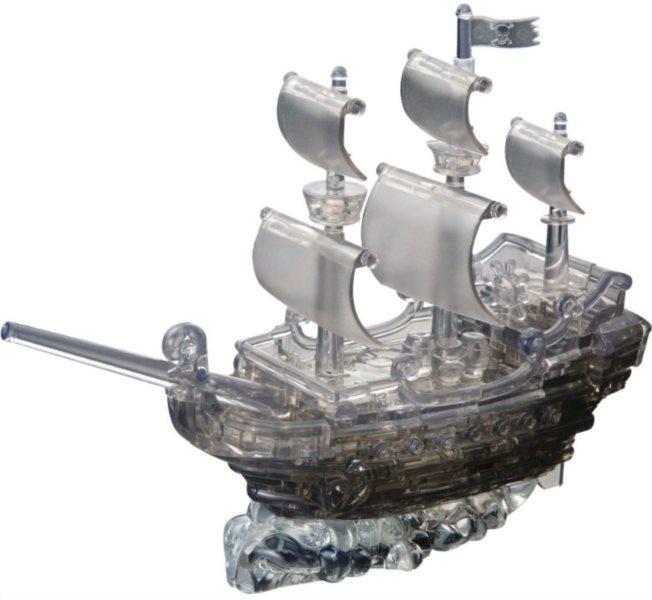 3D Crystal puzzle (krystalové puzzle) -  Pirátská loď 101 dílků