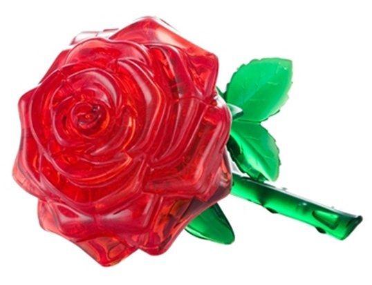 3D Crystal puzzle (krystalové puzzle) - Růže 44 dílků