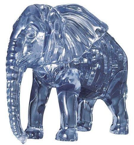 3D Crystal puzzle (krystalové puzzle) -  Slon 40 dílků