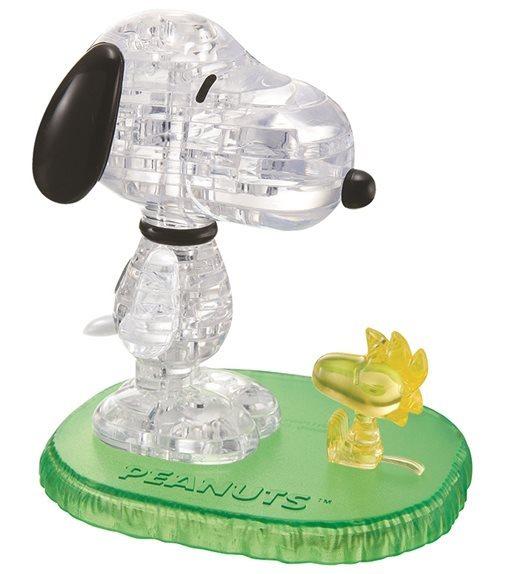 HCM KINZEL 3D Crystal puzzle Snoopy a Woodstock 41 dílků