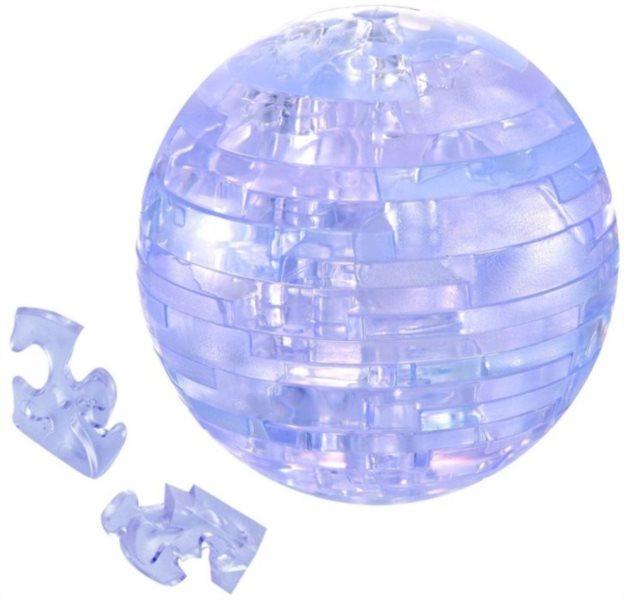 3D Crystal puzzle (krystalové puzzle) -  Zeměkoule 40 dílků