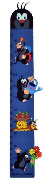 Dětský metr Krtek - modrý