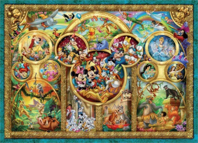 RAVENSBURGER Puzzle Disney - Nejkrásnější pohádky 1000 dílků
