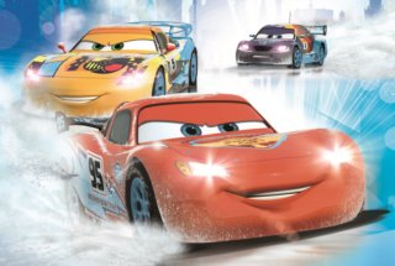 DINO Puzzle Disney pohádky: Auta na ledu 54 dílků