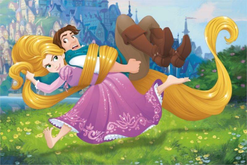 DINO Puzzle Disney pohádky: Locika 54 dílků