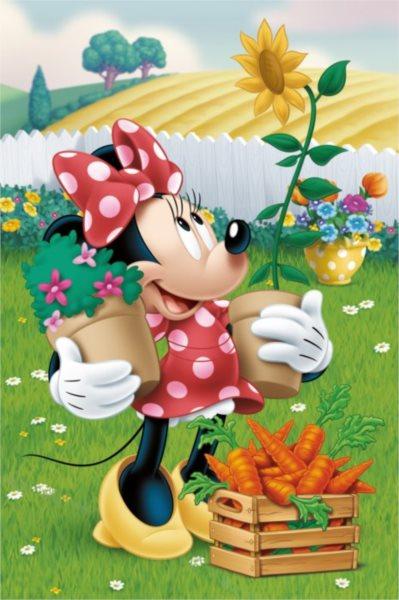 DINO Puzzle Disney pohádky: Minnie 54 dílků