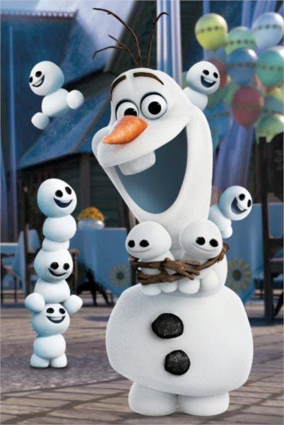 DINO Puzzle Disney pohádky: Olaf 54 dílků