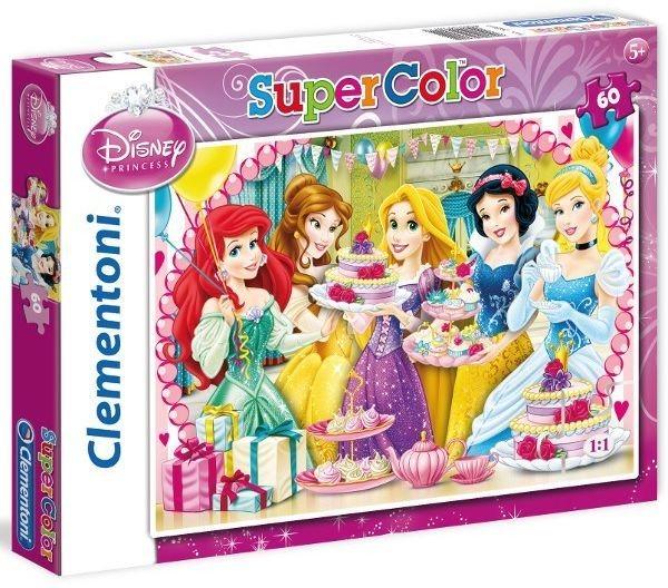 CLEMENTONI Puzzle Disney Princezny: Oslava 60 dílků
